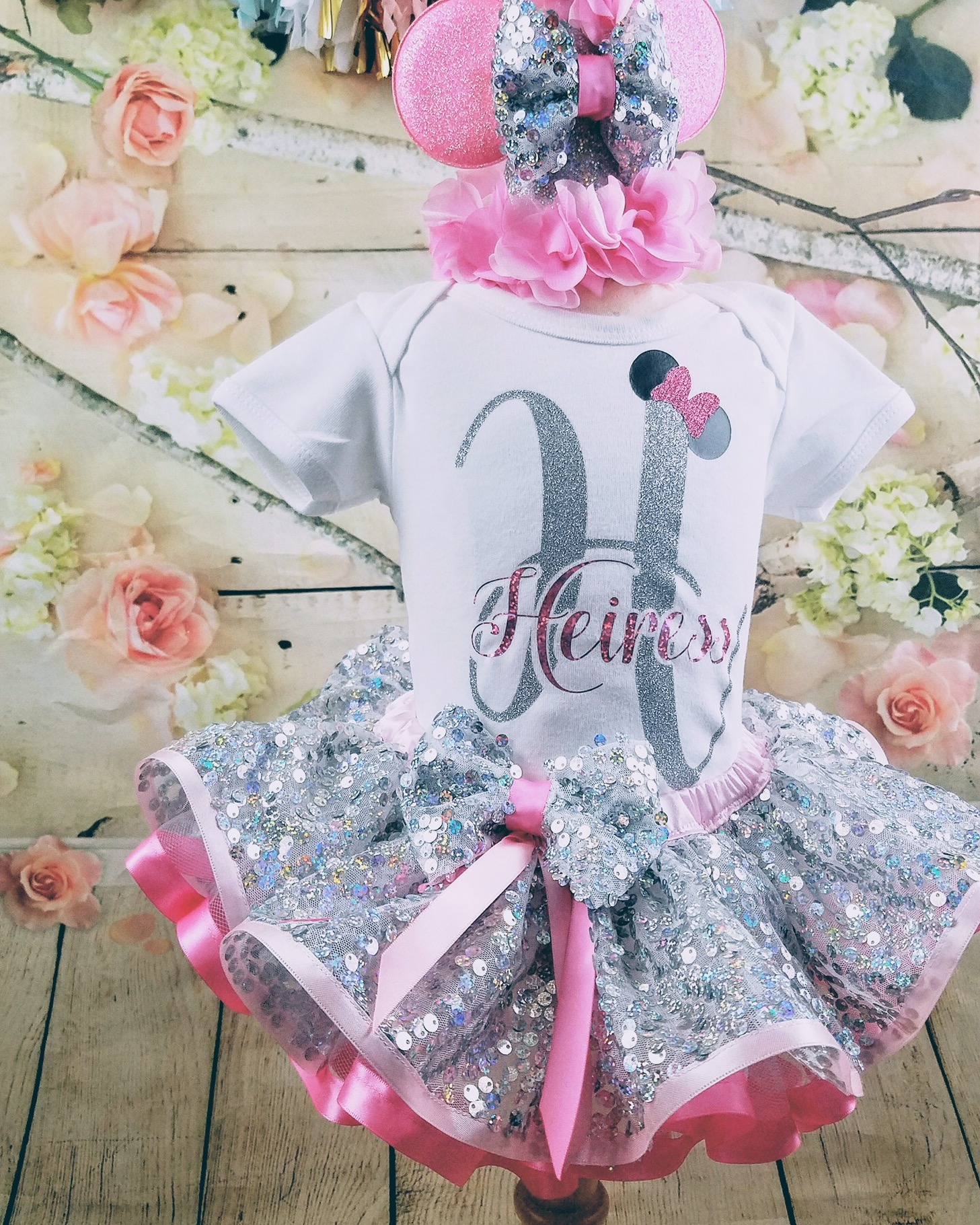 Heiress Inspired 1st Birthday Tutu Set