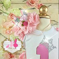 Girls Birthday Crown Number Set