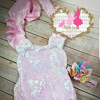 Magical Unicorn Inspired Romper Set