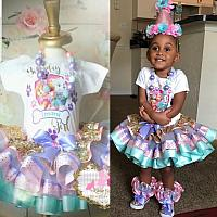Custom Paw Patrol Birthday Tutu Set