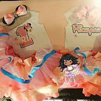 First Birthday Minnie Mouse Tutu Set