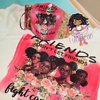 Breast Cancer Shirt & Mask Set*
