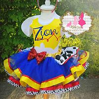 "Jessie Cowgirl Toy Story ""Inspired"" Tutu Set"