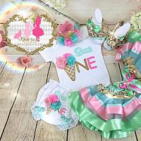 Sweet One 1st Birthday Tutu Set